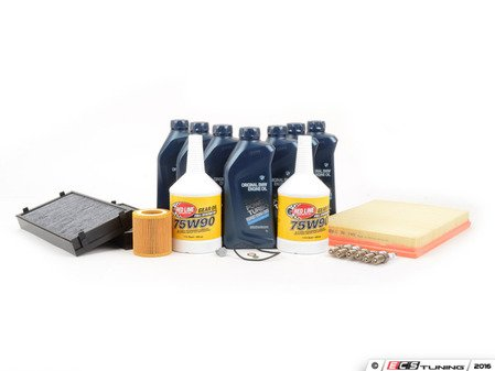 ES#261349 - E70n52INS2 - Inspection 2 - Service Kit - Includes all required parts to perform an Inspection 2 service - Assembled By ECS - BMW