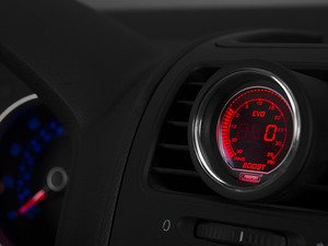 ES#3006393 - 216EVOBO.PSI - EVO Series Digital Boost Gauge - 30 InHg/35 PSI - 52mm Digital boost gauge with dimmable red or blue back lighting - Prosport Performance - Audi BMW Volkswagen MINI
