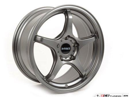 "ES#3075952 - e46m3ltw59.5aKT - 18"" LTW5 - Square set of Four - Anthracite  - A stylish lightweight option  --  9.5"" Width - D-Force Wheels - BMW"