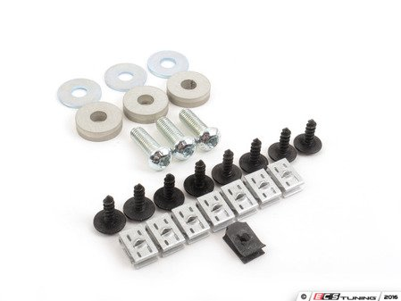 ES#3028734 - 018462ECS01 -  Street Shield Hardware Kit - Replacement hardware kit for your ECS Street Shield - ECS - Audi
