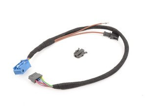 ES#435901 - 8E0051445A - Connection Cable For iPod  - 12 pin adapter harness to be used with the Audi iPod Wiring Adapter Kit 8E0051444B - Genuine Volkswagen Audi - Audi
