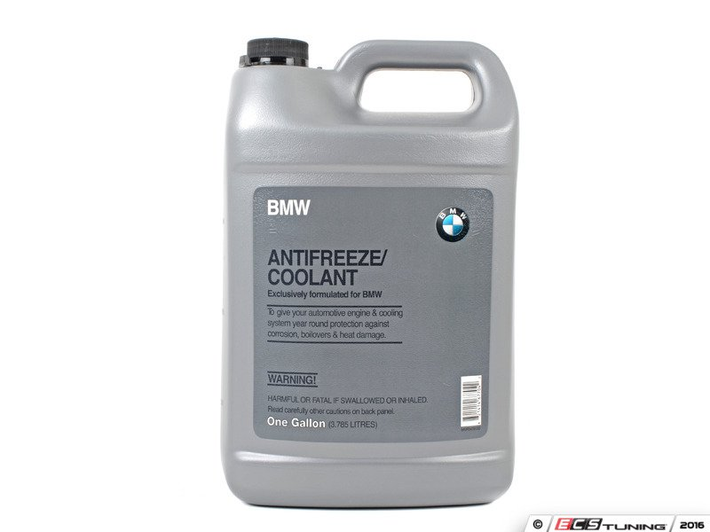 how to add coolant to bmw