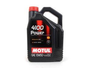 ES#3025346 - MOSY-15W50-5L - MOTUL 4100 15W-50 Synergie Engine Oil - 5 liter bottle - Motul -