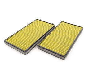 ES#3022756 - 64119272643FP - FreciousPlus Cabin Filter - pair - Next generation filter specially designed to eliminate mold & allergens! Simply the best filter available. - Mann - BMW