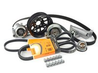 ES#3046152 - AWMTBKV2LVkt - Ultimate Timing Belt Kit - With Lightweight Crank Pulley - Featuring ECS Tuning#39;s lightweight crank pulley - Assembled By ECS - Audi