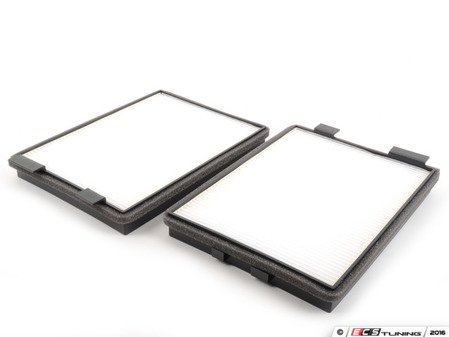ES#3024657 - 64319069927 - Cabin Filter - Pair - Keep the air coming into your BMW clean! Paper version, not charcoal lined. - Corteco - BMW