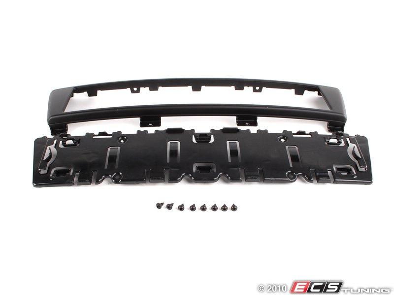 ES#263847 - 8p48072853fz - European Front License Plate Bracket - Matte Black - OEM  sc 1 st  ECS Tuning & Genuine European Volkswagen Audi - 8p48072853fz - European Front ...