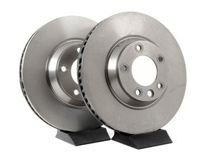 ES#1885271 - 7L6615301EPLKT - Front Brake Rotors - Pair (350x34) - Restore the stopping power in your vehicle - Pilenga - Audi Volkswagen Porsche