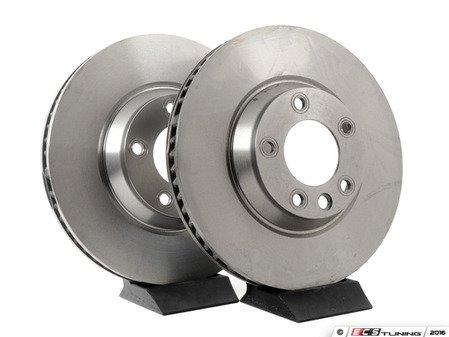 ES#1885271 - 7L6615301EPLKT - Front Brake Rotors - Pair (350x34) - Restore the stopping power in your vehicle - Pilenga - Audi Volkswagen Porsche