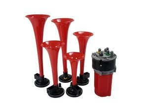 ES#3021270 - AH6051 - Melody Air Trumpet Horn Kit - Dixie - easily installs to play Dixie through your car horn! - Spec-D Tuning - Audi BMW Volkswagen Mercedes Benz MINI Porsche