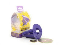 ES#2650020 - PFF85-504P - Dogbone Mount Insert Kit - Track - Performance mount with 80A durometer purple polyurethane engineered for track use - Powerflex - Volkswagen