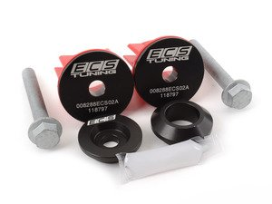 ES#2992521 - 008288ecs01KT -  Complete Rear Differential Mount Insert Kit - Increase drivetrain rigidity and response! - ECS - Audi