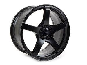 """ES#2864673 - 4767908045BKKT - 17"""" Kojin- Set Of Four - 17""""X9"""" ET45 5x100 - Matte Black - Enkei Wheels - Audi Volkswagen"""