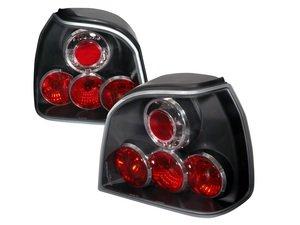 ES#3021578 - LTGLF93JMTM - Tail Light Set - Black - Stylish aftermarket tail lights for your MK3 Golf / GTI / Cabrio - Spec-D Tuning - Volkswagen