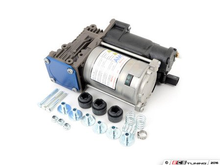 ES#3046176 - 37206859714 - Air Supply Pump  - Unit that controls air for your self-leveling suspension - AMK Automotive - BMW