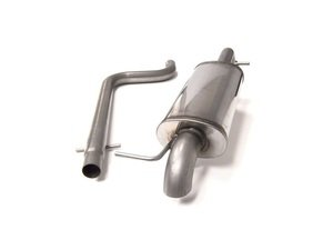 "ES#2917726 - 17704SSHT - Cat-Back Exhaust System - Non-Resonated - 2.5"" stainless steel with turn-down exit - Euro Sport Acc - Volkswagen"