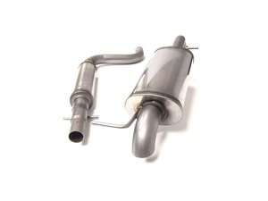 "ES#2917727 - 17704SSHTR - Cat-Back Exhaust System - Resonated - 2.5"" stainless steel with turn-down exit - Euro Sport Acc - Volkswagen"
