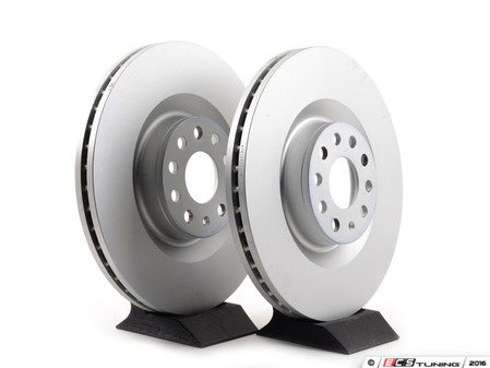 ES#2855193 - 1k0615301mmKT - Front Brake Rotors - Pair (345x30) - Restore the stopping power in your vehicle - ATE - Audi Volkswagen