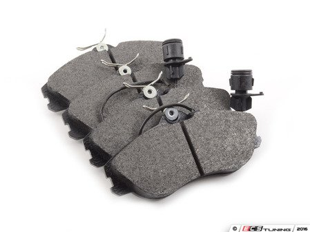 ES#966 - MDB1820D - Front Red Box Brake Pad Set - Restore the stopping power of your vehicle - Mintex - Audi Volkswagen