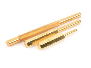ES#2938533 - ATD4075 - 3-PC BRASS PUNCH SET - A brass punch will soften the blow for delicate tasks. Another advantage is they are not sparking. Great when working around flammables. - ATD Tools - Audi BMW Volkswagen Mercedes Benz MINI Porsche