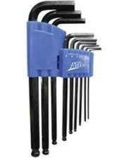 ES#2938721 - ATD585 - 9 Piece Long Arm Hex Key Set  - With ball end this set is the best one - ATD Tools - Audi BMW Volkswagen Mercedes Benz MINI Porsche