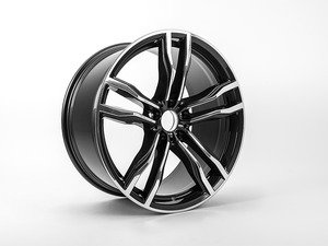 "ES#2912063 - 36112284652 - 21"" Style 612 Alloy Wheel - Priced Each - 21x10 ET40 74.1CB - Genuine BMW - BMW"