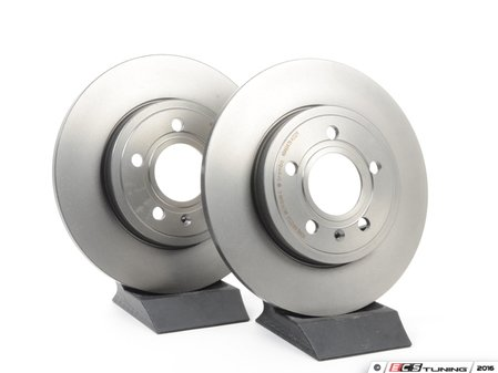 ES#2707197 - 1634210512KT5 - Front Brake Rotors - Pair - Does not include brake rotor securing screws - Brembo - Mercedes Benz