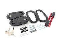 ES#2839858 - E74LOCKING - AeroCatch 120 Series Hood Pins - Locking - Locking hood pin kit with a modern twist - AeroCatch - Volkswagen