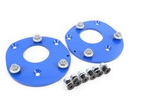ES#3028331 - TSU4680451 - Front Fixed Camber Plates - Street/Track - Increases negative camber to -2.5 for reduced understeer and reduced tire wear - Turner Motorsport - BMW
