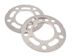 ES#3028407 - TWH9905004 - 3mm Wheel Spacers - Silver (Pair) - Lightweight wheel spacers with a machined tab for easy removal - Turner Motorsport - BMW MINI