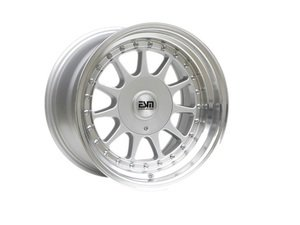 "ES#3048024 - esm-003r-19KT - 17"" Style 003R Wheels - Set Of Four - 17""x10"" ET15 57.1CB 5x112 Silver - ESM Wheels - Audi"