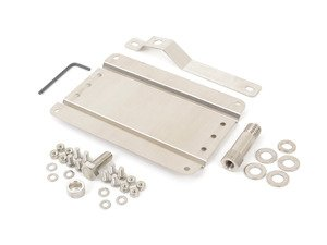 ES#3046055 - 0002SVW248 - No Holes License Plate Bracket Kit - Avoid drilling holes in your bumper by utilizing a tow hook mounted plate bracket - GMG Motorsports - Volkswagen