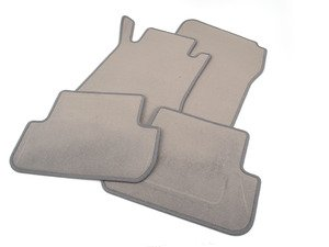ES#1820882 - 66294124 - Carpeted Floor Mat Set - Basalt Grey - Genuine Mercedes Benz - Mercedes Benz