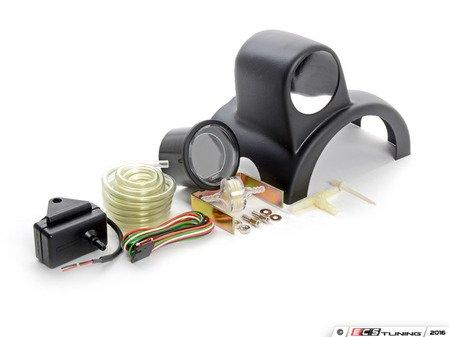 ES#3047937 - 216EVOWGBOPSIKT - Column Mounted Boost Gauge & Pod Kit - Complete kit to install a steering wheel column pod boost gauge featuring Prosport EVO digital Green boost gauge - Assembled By ECS - Audi