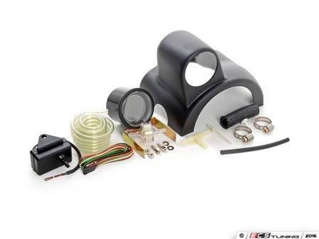 ES#3047946 - 216EVOWGBOPSIKT1 - Column Mounted Boost Gauge & Pod Kit - Complete kit to install a steering wheel column pod boost gauge featuring Prosport EVO digital Green boost gauge - Assembled By ECS - Audi