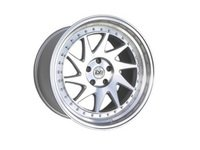 """ES#3063558 - ESM-014-1kt - 19"""" Style 014 Wheels - Set Of Four - 19""""x8.5"""" ET35 57.1CB 5x112 Silver with Brushed Machine Face and Machined Lip - ESM Wheels - Audi Volkswagen"""