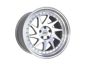 "ES#3063558 - ESM-014-1kt - 19"" Style 014 Wheels - Set Of Four - 19""x8.5"" ET35 57.1CB 5x112 Silver with Brushed Machine Face and Machined Lip - ESM Wheels - Audi Volkswagen"