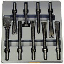 ES#2938709 - ATD5730 - 9 Piece All Purpose Air Chisel Set - Never use the wrong chisel again - ATD Tools - Audi BMW Volkswagen Mercedes Benz MINI Porsche
