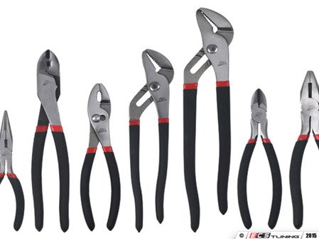 ES#2939141 - ATD827 - 7 Pc Mechanics Pliers Set - The perfect pliers set for any type of mechanic - ATD Tools - Audi BMW Volkswagen Mercedes Benz MINI Porsche