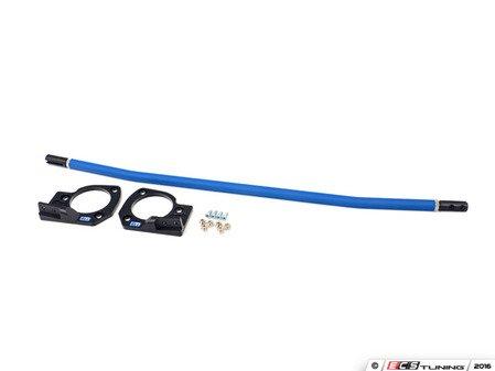 ES#2843600 - NM.358856 - NM Billet Aluminum Tie-Bar - Blue - Front strut tower bar for suspension rigidity - NM Engineering - MINI