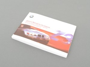 ES#12928 - 01410155690 - Owners manual  - 2001 model year owners manual - Genuine BMW - BMW