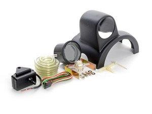 ES#3047934 - 216EVOBO.PSIKT1 - Column Mounted Boost Gauge & Pod Kit - Complete kit to install a steering wheel column pod boost gauge featuring Prosport EVO digital Red or Blue boost gauge - Assembled By ECS - Audi