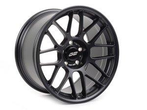 """ES#3025516 - ARC81810ET25SMBK - APEX ARC-8 18x10"""" ET25 Satin Black Concave Wheel 19.95lbs - APEX Wheels -"""