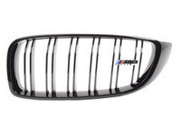 ES#2767184 - 51712352813 - Gloss Black Kidney Grille - Left - Change your grilles for a more aggressive look - Genuine BMW - BMW