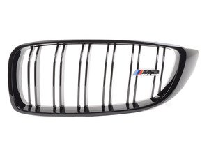ES#2767184 - 51712352813 - Gloss Black Kidney Grille - Left - Change your grilles for a more aggressive look - Genuine BMW M Performance - BMW