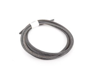 ES#2803022 - N2035515 -  Cloth Braided Fuel/Vacuum Hose - Black - 5 Meter - Replace your cracked or frayed fuel or vacuum lines. 5mm ID - Rein - Audi BMW Volkswagen Mercedes Benz MINI Porsche