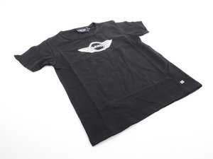 ES#1877398 - 80142152811 - Kids' Logo Tee - Black - Size: 14 - MINI wings logo on front - Genuine MINI - MINI