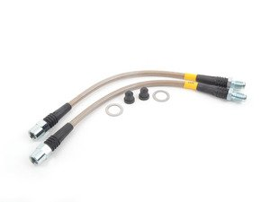 ES#3023695 - 950.34531 - Stainless Steel Brake Lines - Rear - Designed to create a quicker, firmer, more consistent pedal response - DOT compliant - StopTech - BMW