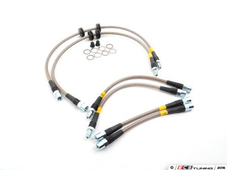 ES#3024290 - PLBE9X335i - Stoptech Stainless Steel Brake Lines - DOT and German TUV compliant - StopTech - BMW