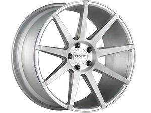 "ES#3072921 - ESQ2205SV53045kt - 22"" Esquire Style Wheels - Set Of Four - 22""x10.5"" ET45 71.6CB 5x130 Brushed Silver - Zenetti - Audi Volkswagen"